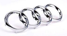 Emblema Audi Anéis Grade - Dianteira - A3 A6