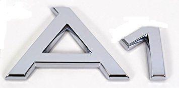Emblema Tampa Traseira - A1