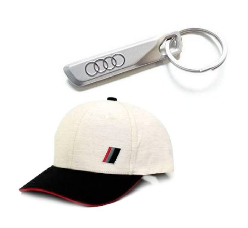 Chaveiro de Metal Audi + Boné Heritage