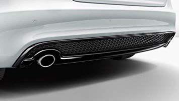 Ponteira de Escapamento - Cromada -  A4 Avant - A4 Avant Quattro 2016 2020 - A5 Cabriolet - A5 Coupe - A5 Sportback 2017 2020