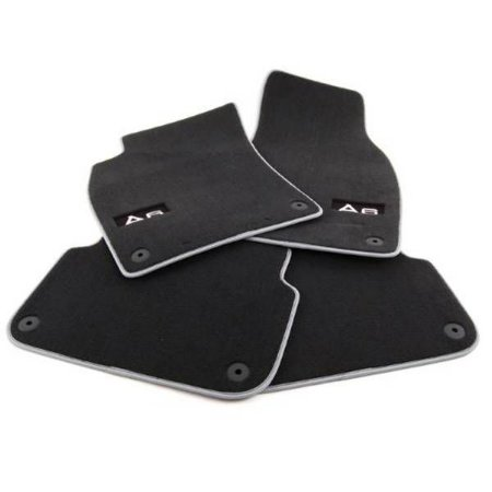 Jogo de Tapetes Premium Floor Mats - A6 Avant 2011/ 2020 - A6 Allroad 2015 / 2020