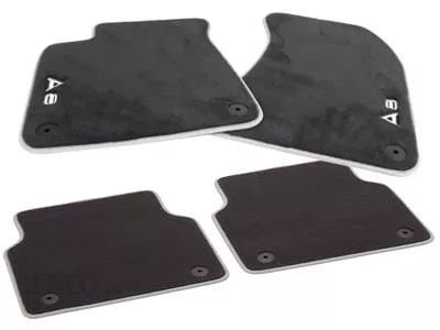 Jogo de Tapetes Premium Floor Mats - A8 Quattro 2010 / 2020