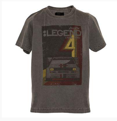 Camiseta Legend Audi Heritage - Cinza - Infantil