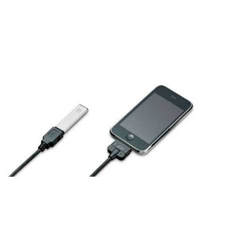 Kit 2 cabos Cabo AMI USB + Cabo iPhone (ponta larga)