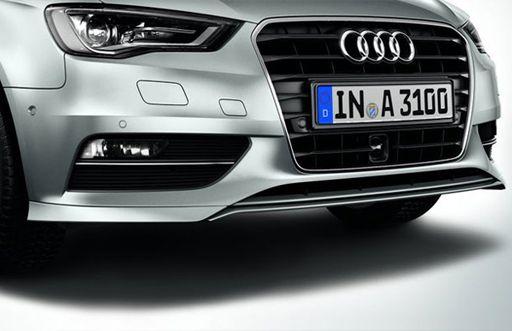 Spoiler dianteiro - A3 Sportback Quattro - A3 Sedan Quattro 2013 2020