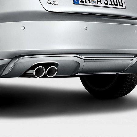 Difusor Traseiro - A3 Sportback Quattro - A3 Sedan Quattro 2013 2020