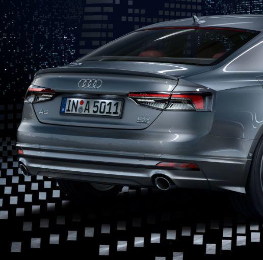 Spoiler - Traseiro -   A5 Cabriolet - A5 Coupe - A5 Sportback 2017 2020