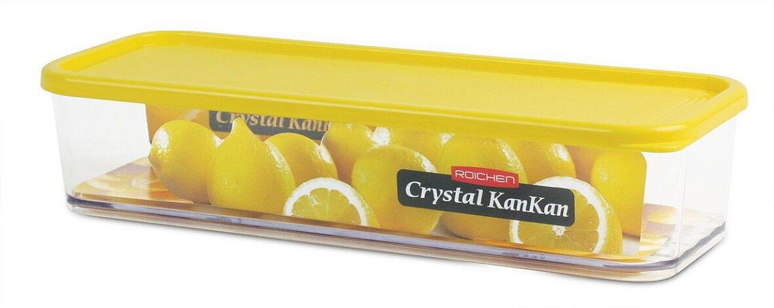 Pote Organizador de Geladeira Crystal Kankan - 970ml