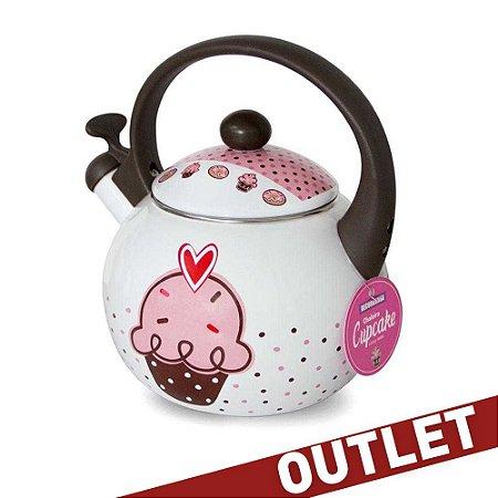 Chaleira Cupcake - Decor&Casa - OUTLET
