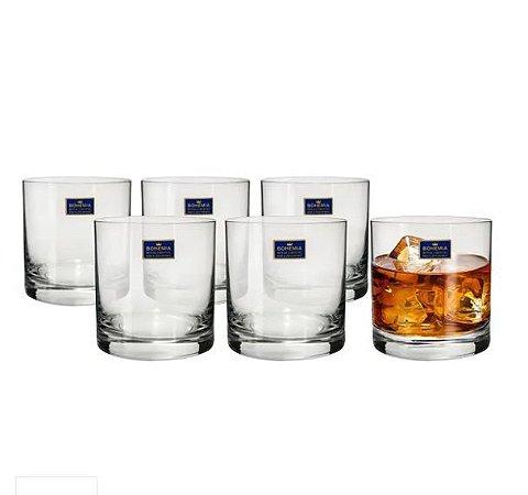 Jogo de copos Cristal Barline - 410ml - 6 peças - Bohemia