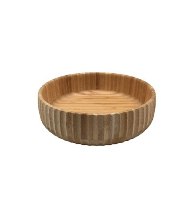Bowl Canelado de Bambu - 19 cm - OIKOS