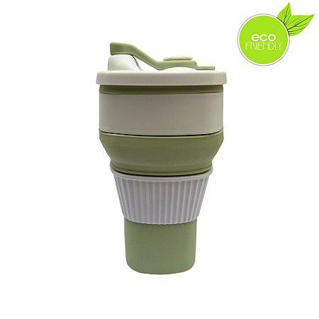 Yuze Copo de Café Retrátil - Verde - Yuze