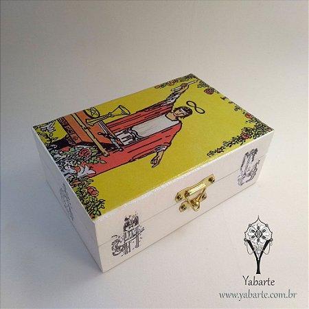 Porta Baralho |Caixa para Tarot O Mago