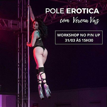 31/3 - 15:30 - EROTICA com Verena Vaz