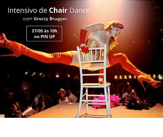 27/05 - 10h00 - INTENSIVO CHAIR DANCE com Grazzy Brugner