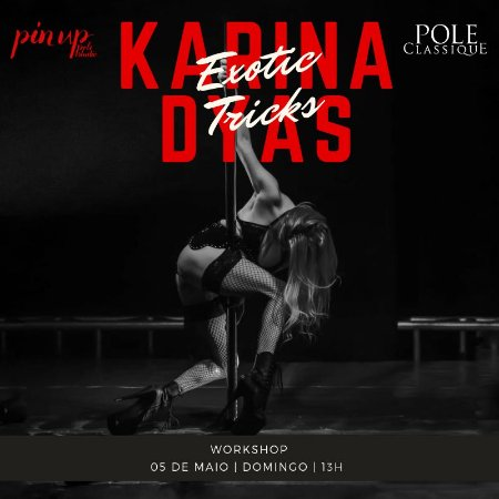 05/05 | 13h | Exotic Tricks | Karina Dyas