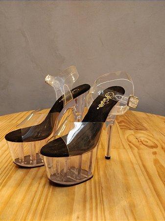Sandália|  PLEASER | Clear - 17cm