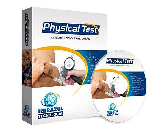 Software Avaliação Física Physical Test 2.98 Licença 1 Ano