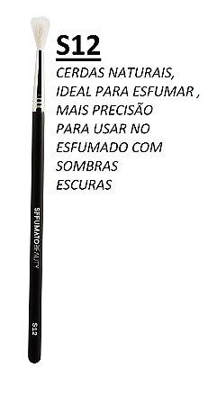 S12 - PINCEL SFFUMATO DE ESFUMAR  - CERDAS NATURAIS
