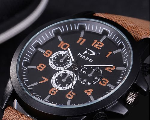 Relógio masculino PINBO p170