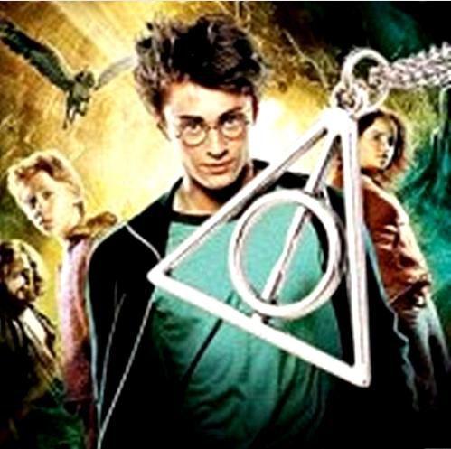 Promoção - Colar e Pingente Harry Potter e as Relíquias da morte