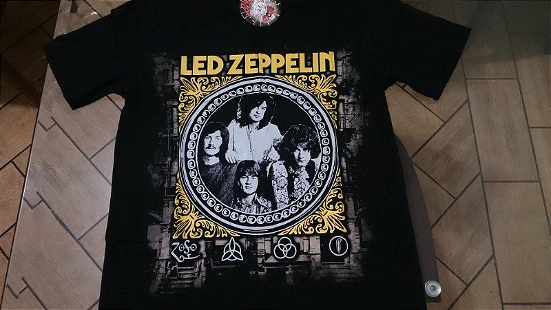 bcc490b8f Camiseta de rock da banda Led Zeppelin - DiBowie Store