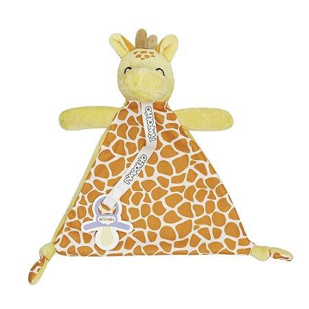 Naninha Prendedor de Chupeta Girafa Amarela Pimpolho (0m+)