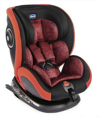 Cadeira para Auto Seat4FIX Poppy Red Vermelha Chicco (0 a 36kg)