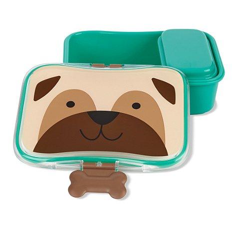 Kit Lanche Marmitinha Zoo Skip Hop Cachorro Pug