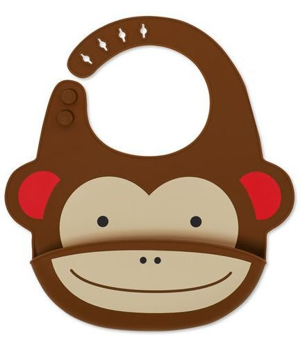 Babador de Silicone Skip Hop Macaco