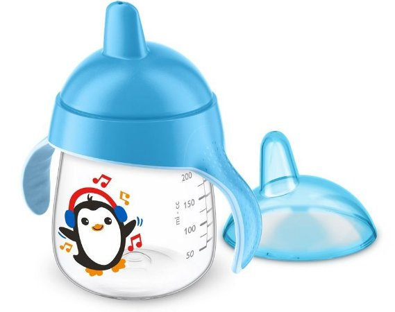Copo de Treinamento 260ml Pinguim Azul Philips Avent (12m+)