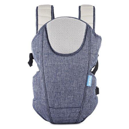 Canguru Ergonômico Confort Line Jeans Azul KaBaby (3m+)