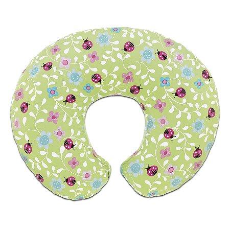 Almofada de Amamentação Boppy Ladybug Joaninha Capa Removível Chicco (0m+)