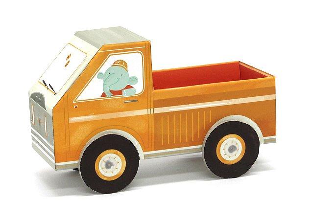 Carrinho de Papelão de Montar 3D Caminhão Krooom