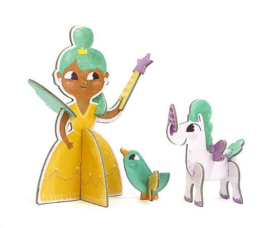 Personagem 3D de Montar Princesa Krooom