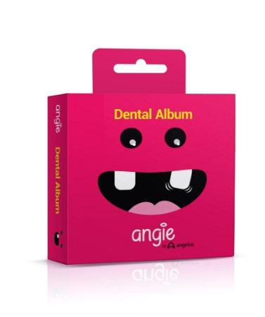 Dental Álbum Porta Dentinhos Rosa Angie
