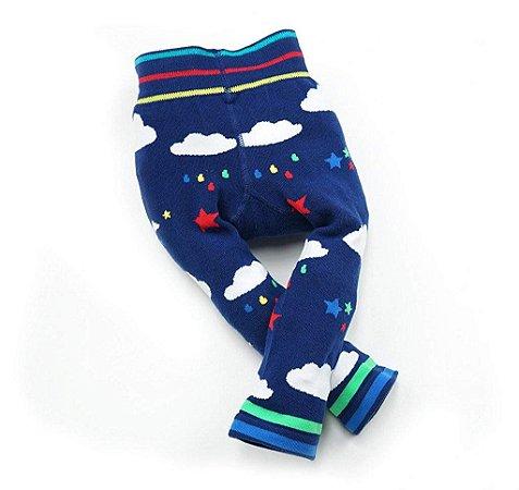 Calça Legging para Bebê Nuvem Blade and Rose