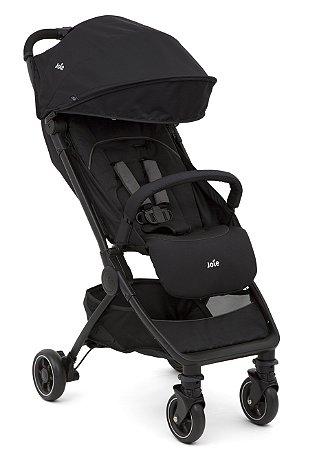 Carrinho de Bebê Pact Joie Preto Coal - 3 Posições até 15kg