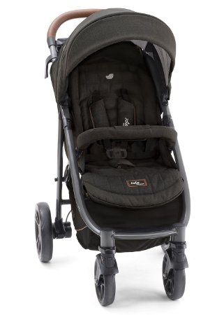 Carrinho de Bebê Litetrax 4 Flex Signature Preto Noir Joie - 3 Posições até 15kg