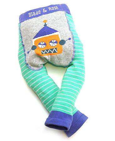 Calça Legging para Bebê Robô Blade and Rose