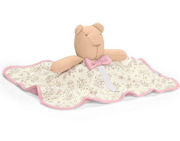 Naninha Ursinho Rosa Mundo de Fantasia Hug Baby (0m+)