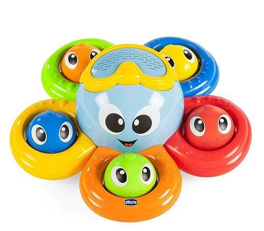 Brinquedo para Banho Billy O Polvo Chicco (6m+)