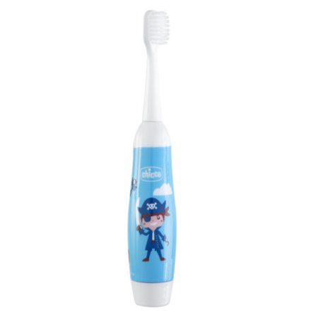 Escova de Dentes Elétrica Pirata Azul Chicco (3a+)