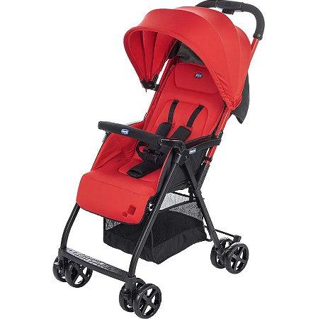 Carrinho de Bebê Ohlalà 2 Vermelho Páprika Chicco - Até 15kg