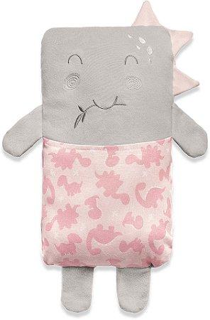 Travesseiro Agarradinho Meus Dinos Rosa Hug Baby (0m+)