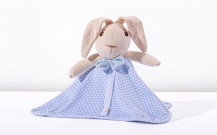 Naninha Coelho Azul Lembranças de Infância Hug Baby (0m+)