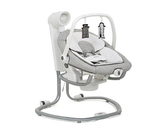 Cadeira de Descanso Bouncer Serina Cinza 2 em 1 Joie (0 a 9kg)