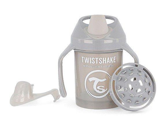Copo de Treinamento com Alças 230ml Twistshake Azul (4m+)