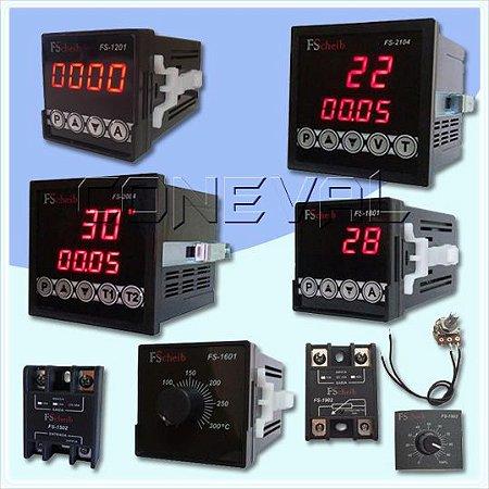 Controladores de Temperatura - Contadores - Temporizadores