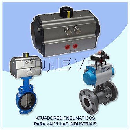 Atuadores Pneumáticos para Válvulas Industriais